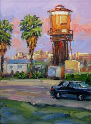 SEAL BEACH WATER TOWER HOME by TOM BROWN
