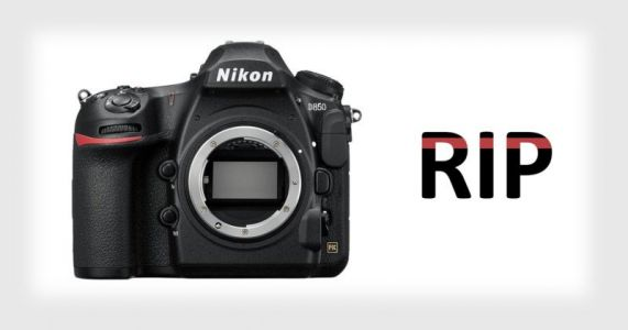 The Tragic Death of My Nikon D850