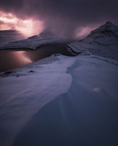 Ephemeral Winter Weather on the Faroe Islands Captured by Photographer Felix Inden