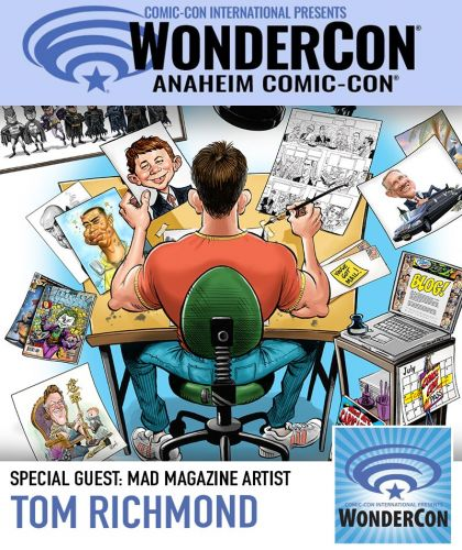 Come See Me at Wondercon!