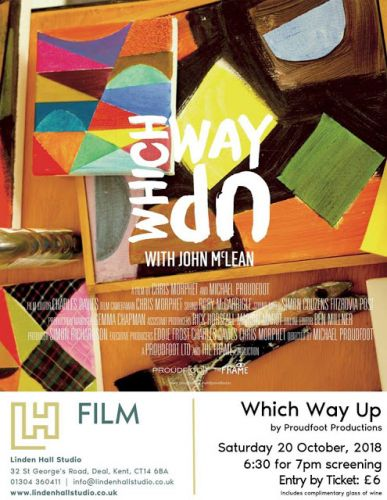 Which Way Up: John McLean Film Screening at Linden Hall Studio