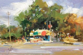 ROADSIDE STAND by TOM BROWN
