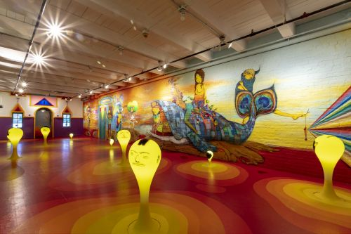 An Immersive New Exhibition by OSGEMEOS Combines Street and Folk Art