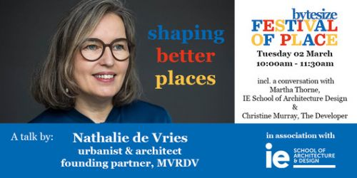 Shaping Better Places: A Conversation Between Nathalie de Vries, Martha Thorne and Christine Murray