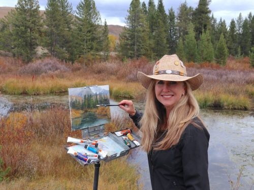 Go Solvent-Free Oil Painting with Lori McNee!