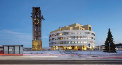 The Crystal - Kiruna Town Hall / Henning Larsen