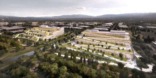 Google Reveals Plans for 1 Million Square Foot BIG-Designed Campus in Sunnyvale, California