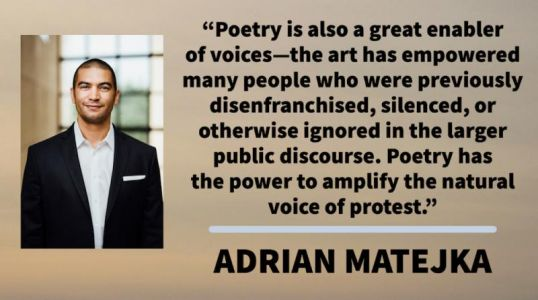 TuesdayThought: Adrian Matejka on the Power of Poetry