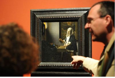 On this day. Vermeer, Happy 385th