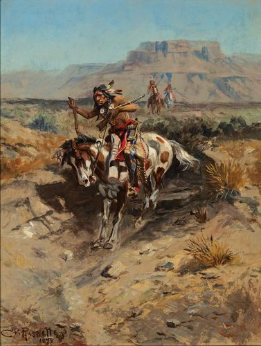Charles M. Russell, Painter of Old Montana