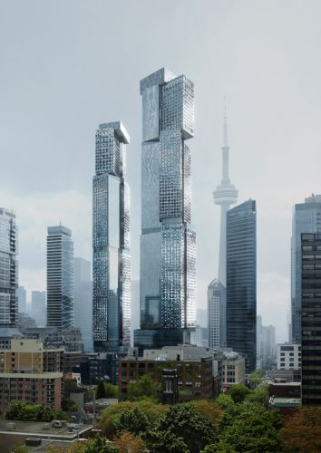 New Renderings Reveal the Tallest Frank Gehry-Designed Building in the World, part of the King Street West Project in Toronto