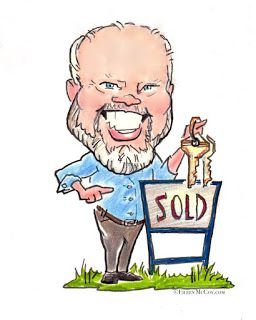 CARICATURE FOR BUSINESS: Realtor Caricature Avatar
