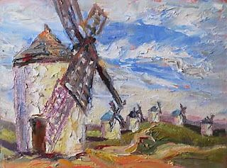 Painting and Photographing Don Quixote's Windmills with Niki Gulley and Scott Williams