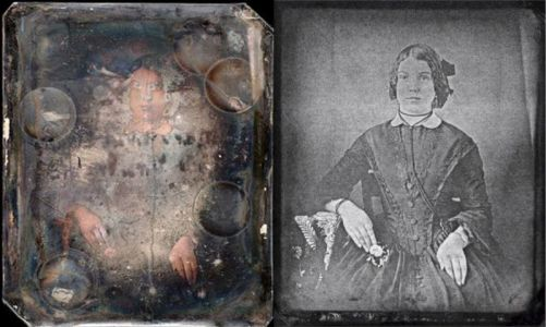 X-ray Beams Can Recover Lost 19th-Century Photos