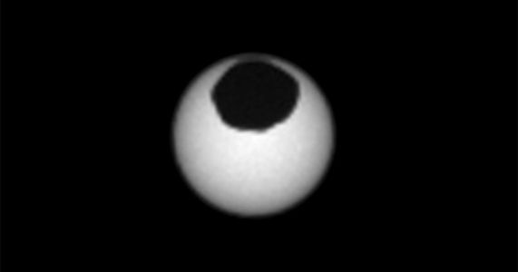 Curiosity Rover Captures Two Solar Eclipses on Mars