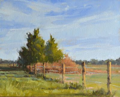 Hill Country Fence Line - Demo Process Shots