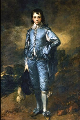Gainsborough's Sketchy Brushwork and Background Treatment