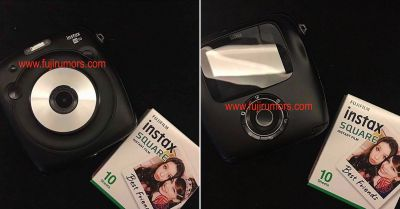 Leaked Photos of Fuji's New Instax Square Camera and Instant Film