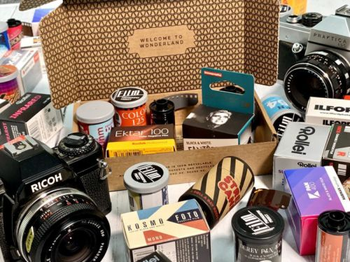 Analogue WonderBox is a Subscription Service for Trying 35mm Films