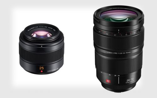 Panasonic Reveals 24-70mm f/2.8 for L-Mount and 25mm f/1.4 for MFT