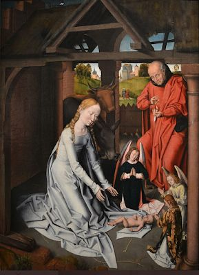 Hans Memling. Flemish painter of the famous of the day, secular & religious