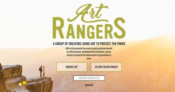 Art Rangers Gives National Parks 100% of Fine Art Photo Profits