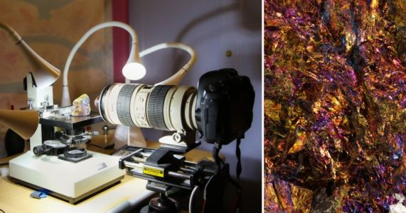 Each of These Extreme Macro Mineral Photos is Made Up of Over 25,000 Individual Images