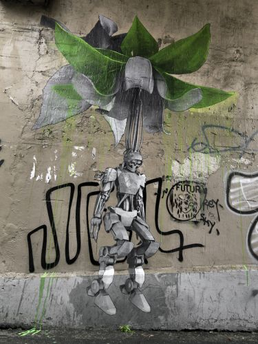 """""""We Are All Humans After All"""" by Ludo in Paris"""