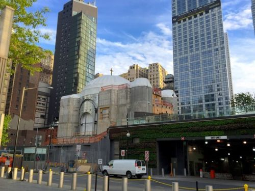 Construction Halts on Calatrava's St. Nicholas Shrine at the World Trade Center
