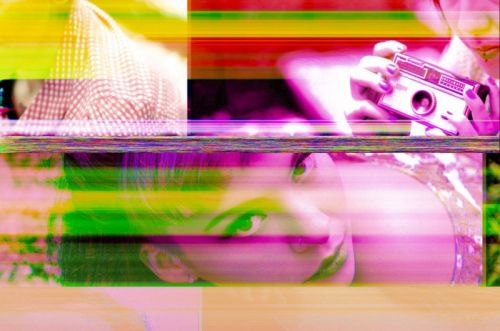 Lucky Accidents: Viewing Corrupted JPEG Photos in a New Light