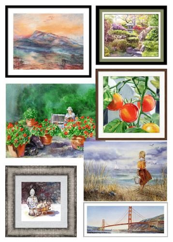 Bestselling Watercolor Paintings Of The Month