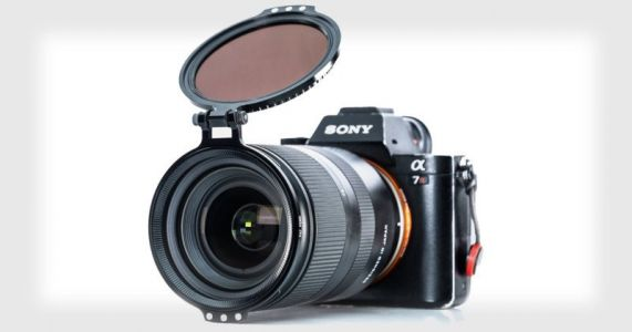 Alter RFS: A Hinged Lens Filter Adapter That Swings Out of the Way
