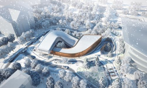 GroupGSA Wins Competition for the 2022 Winter Olympics Four Seasons Reception Center in China