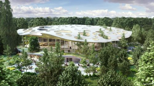 Sou Fujimoto's House of Hungarian Music to Begin Construction in Budapest