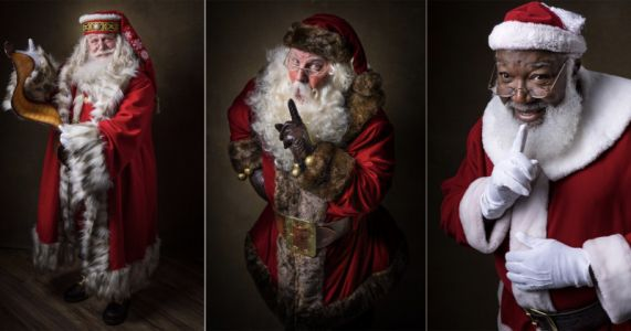 Photo Series Beautifully Features the Many Faces of Santa Claus