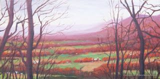 'Through the Trees ' An Original Oil Painting by Claire Beadon Carnell