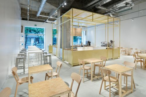 Blue Bottle Coffee Kobe Café / Jo Nagasaka + Schemata Architects