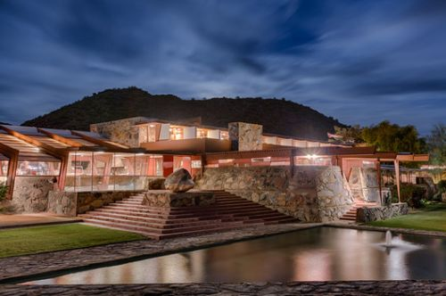 Frank Lloyd Wright Foundation will use Taliesin West to Educate about Living with Nature