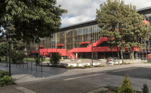 K Building, School of Architecture and Construction Autonomous University of Chile / Schmidt Restrepo Arquitectos