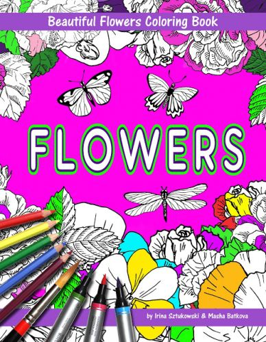 Recent Bestsellers - Coloring Books - Horses And Flowers
