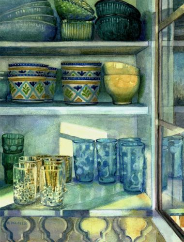 Watercolor Paintings of your Kitchen