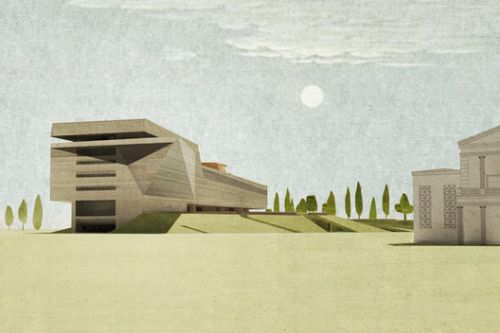 A Superimposed Journey through the Archeological Heritage of Cyprus in New Museum Proposal