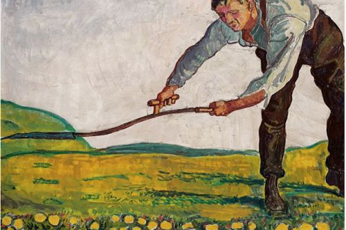 Ferdinand Hodler. Born on this day in 1853