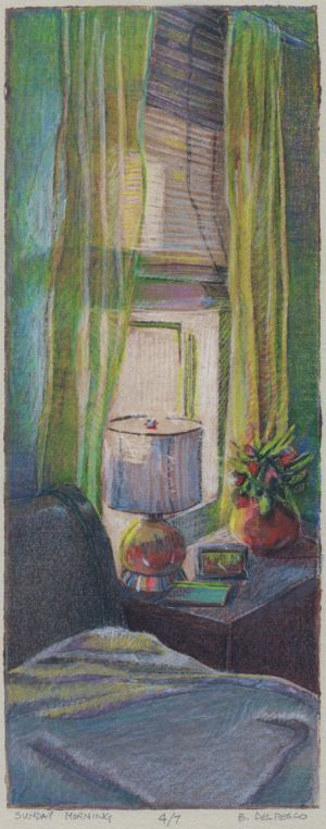 Collagraph: Sunday Morning - and helpful resources for entering art shows