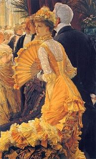 James Tissot - now showing at the Legion of Honor. Also, Happy birthday