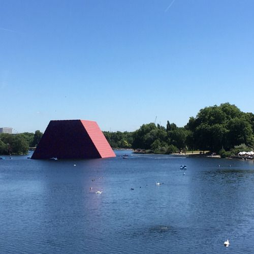 Monday in the park with Christo