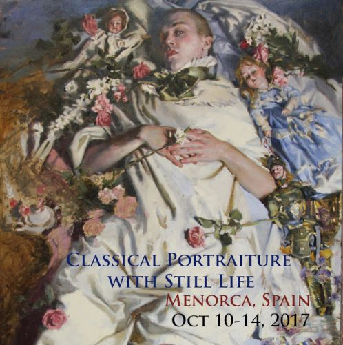 Classical Portraiture With Still Life Workshop, Menorca Spain!
