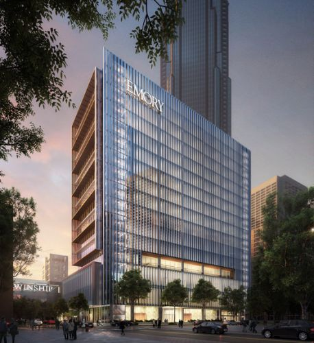 SOM+ May Architecture Design Facilities for Cancer Care in Atlanta