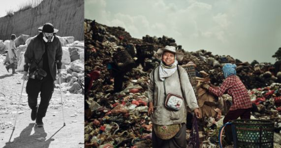 Capturing Portraits in Indonesia's Trash Dumps with a Dislocated Knee
