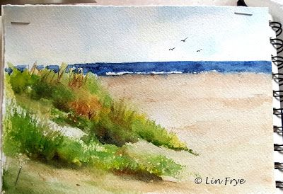 Journal - Sunset Beach - Lin Frye - North Carolina